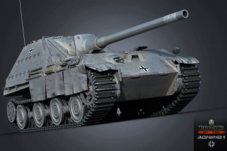 World of Tanks Jagdpanther II Background for Android, iPhone and iPad