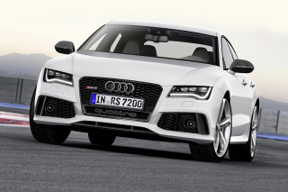2016 Audi RS 7 Quattro Background for Android, iPhone and iPad