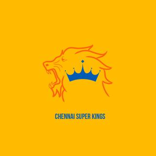 Chennai Super Kings IPL - Obrázkek zdarma pro iPad mini