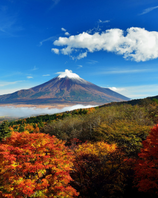 Mount Fuji 3776 Meters - Obrázkek zdarma pro Nokia X7