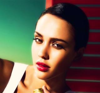 Portrait Of Jessica Alba - Obrázkek zdarma pro 2048x2048