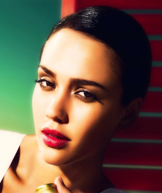 Portrait Of Jessica Alba - Obrázkek zdarma pro iPhone 5S