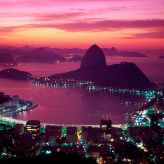 Sugarloaf Mountain Rio Brazil - Obrázkek zdarma pro 128x128