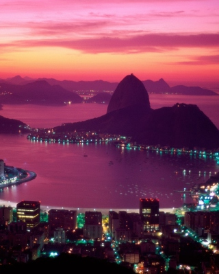 Sugarloaf Mountain Rio Brazil - Obrázkek zdarma pro Nokia Asha 300