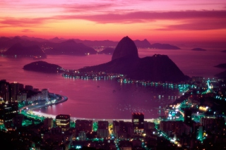Sugarloaf Mountain Rio Brazil - Obrázkek zdarma pro 220x176