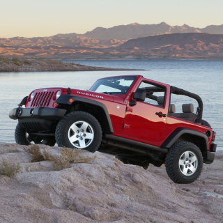Jeep Wrangler Rubicon Hard Rock - Obrázkek zdarma pro iPad
