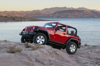 Jeep Wrangler Rubicon Hard Rock - Obrázkek zdarma pro Motorola DROID 3