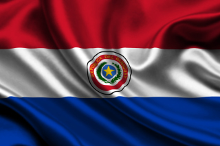 Flag of Paraguay Background for Android, iPhone and iPad