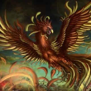 Mythology Phoenix Bird - Obrázkek zdarma pro 208x208
