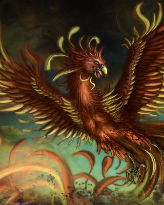 Mythology Phoenix Bird - Obrázkek zdarma pro Nokia Asha 306