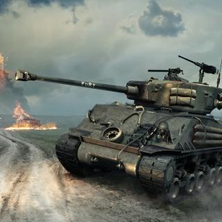 World of Tanks Blitz America - Obrázkek zdarma pro iPad mini