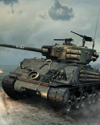 World of Tanks Blitz America - Obrázkek zdarma pro Nokia 300 Asha