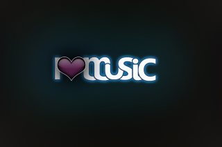 I Love Music Background for Android, iPhone and iPad