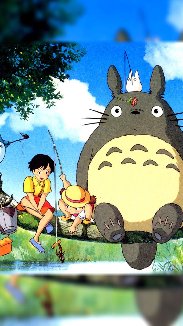 My neighbor totoro anime wallpaper for iphone 5 - Totoro wallpaper iphone ...