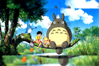 My Neighbor Totoro Anime - Fondos de pantalla gratis para Sony Ericsson XPERIA X10 mini pro
