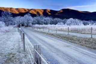 Canada Winter Landscape - Obrázkek zdarma pro HTC Hero