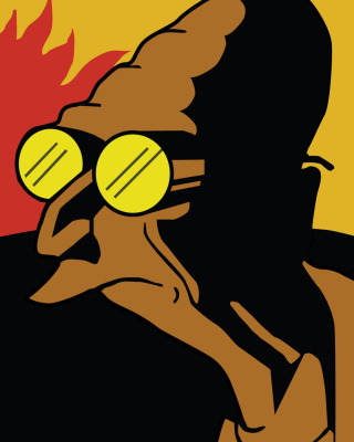 Futurama Professor Farnsworth - Obrázkek zdarma pro Nokia C1-00