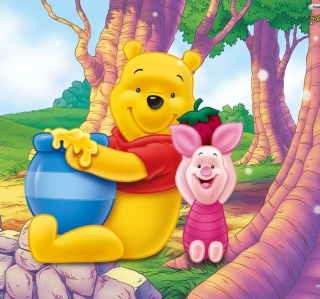Winnie Pooh - Obrázkek zdarma pro iPad