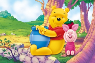 Winnie Pooh Picture for Android, iPhone and iPad