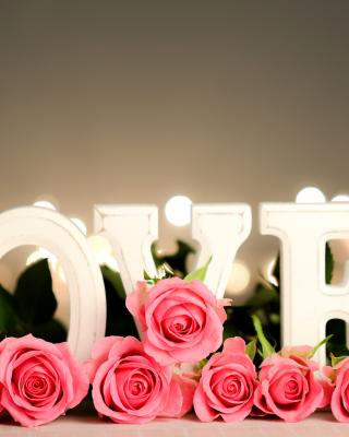 Love Letters - Obrázkek zdarma pro iPhone 4S