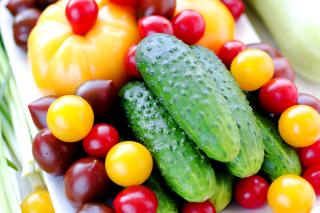 Raw foodism Food - Cucumber - Obrázkek zdarma pro Desktop 1920x1080 Full HD