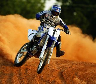 Dirt Bikes Motocross - Obrázkek zdarma pro iPad Air