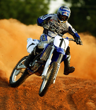 Dirt Bikes Motocross - Obrázkek zdarma pro Nokia Asha 202