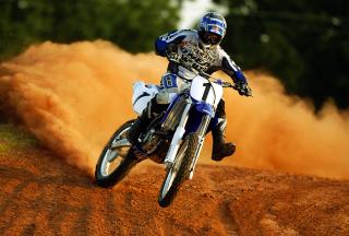 Dirt Bikes Motocross - Obrázkek zdarma pro HTC Wildfire