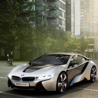 BMW i8 - Obrázkek zdarma pro iPad Air