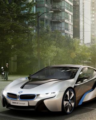BMW i8 - Obrázkek zdarma pro 480x854
