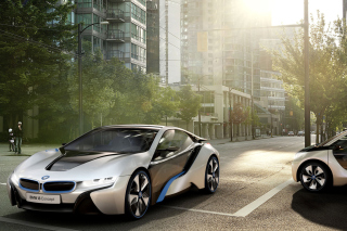 BMW i8 Wallpaper for Android, iPhone and iPad