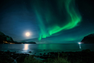 Iceland Northern Lights Background for Android, iPhone and iPad