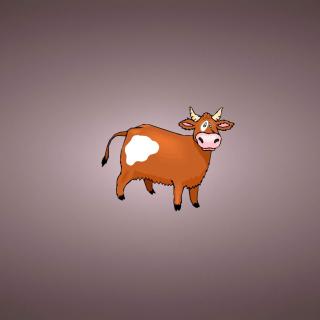 Funny Cow - Obrázkek zdarma pro iPad mini 2
