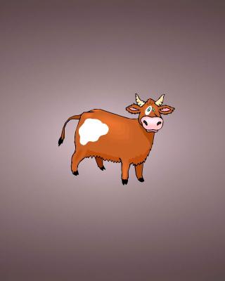Funny Cow - Obrázkek zdarma pro 480x854