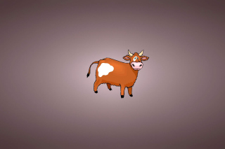 Funny Cow Wallpaper for Android, iPhone and iPad