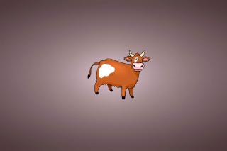 Funny Cow - Obrázkek zdarma pro Nokia Asha 201