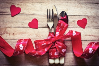 Valentine's Dinner Wallpaper for Android, iPhone and iPad