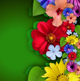 Flowers - Obrázkek zdarma pro 128x128