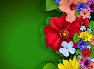 Flowers - Obrázkek zdarma pro Android 320x480