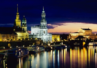 Elbe Dresden Germany Picture for Android, iPhone and iPad