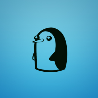 Adventure Time - Penguin - Obrázkek zdarma pro iPad