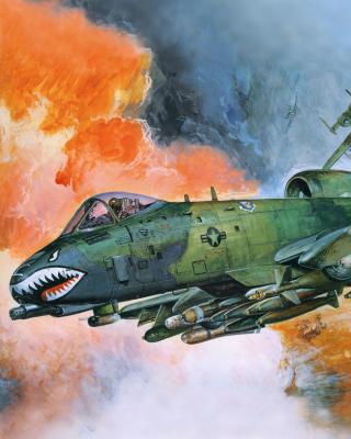 Fairchild Republic A 10 Thunderbolt II - Obrázkek zdarma pro Nokia C2-01