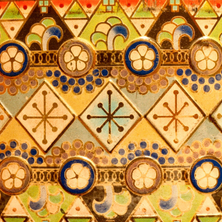 Antique Christmas Ornaments - Obrázkek zdarma pro 320x320