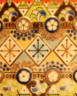 Antique Christmas Ornaments - Obrázkek zdarma pro 128x160