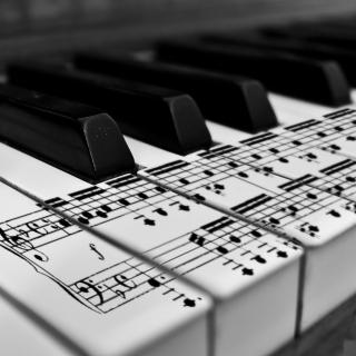 Piano - Obrázkek zdarma pro 1024x1024