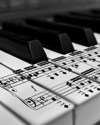 Piano - Obrázkek zdarma pro 480x640