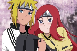 Minato Namikaze And Kushina Uzumaki Wallpaper for Android, iPhone and iPad