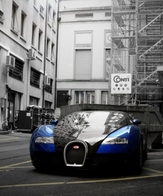Bugatti Veyron Grand Sport - Obrázkek zdarma pro Nokia C-5 5MP