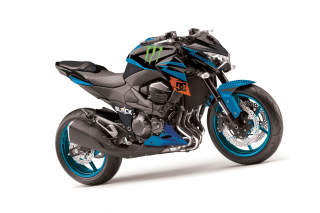 Kawasaki Z800 - Obrázkek zdarma pro 1024x600