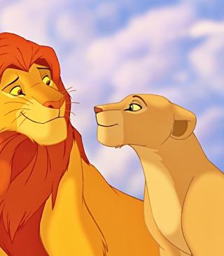 Disney's Lion King - Obrázkek zdarma pro iPhone 5C